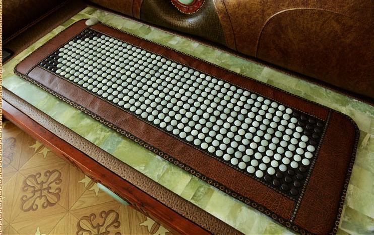 50 * 150 cm, germanium stone mattress jade mattress Micro - physical therapy, tourmaline mat electric massage mattress for sale 2016 electric heating massage jade stone mattress korean mattress wholesaler 1 2x1 9m