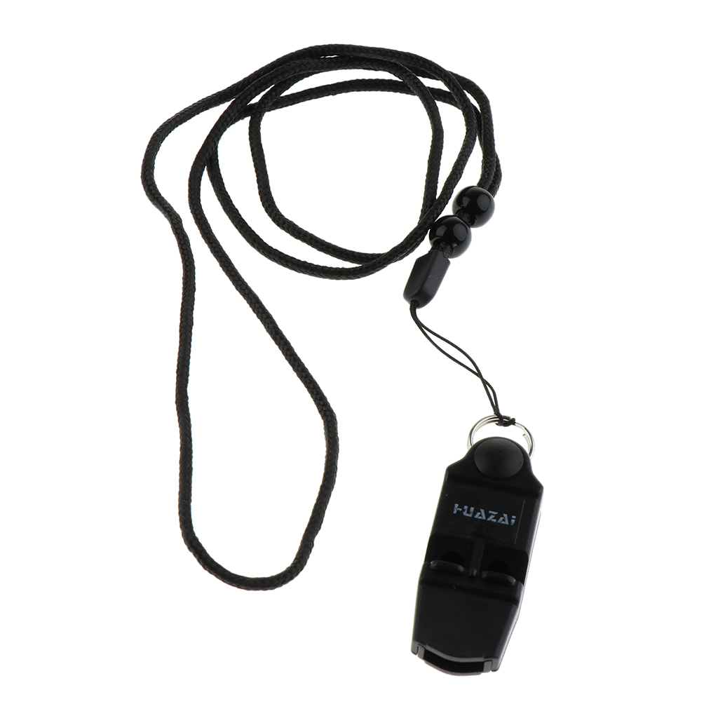 Outdoor Sports Coaches Whistle With Adjustable & Removable Lanyard For Football Soccer Safety Referee Training Accessory