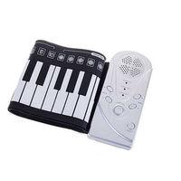 Portable Roll Up 49 Keys Soft Electronic Digital Keyboard Piano Music Instrument