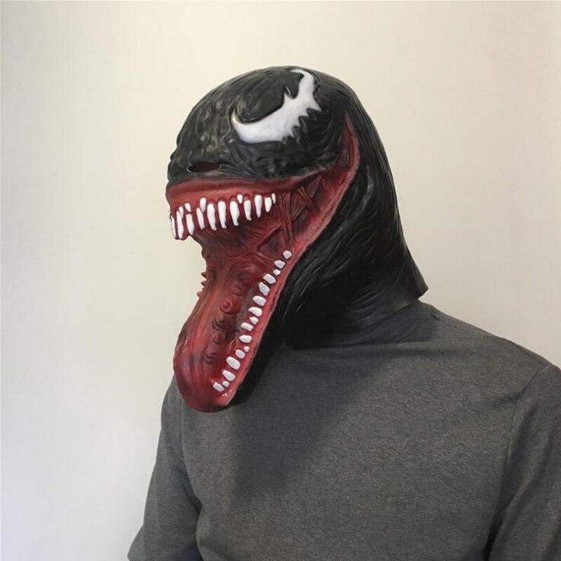 毒エドワード · ブロック · スパイダーマン大人ラテックスマスクコスプレ衣装ハロウィンフルフェイスマスクヘルメット