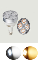 LED PAR30 36W 3000lm Spotlight Medium Screw Base E26 E27 Bulb with Built in Quiet Fan insures Reliability LED Reflector Light