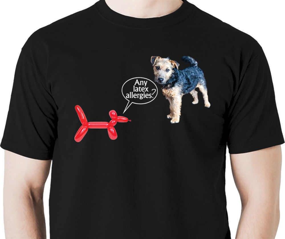 2018 новые летние футболки любой латекс alergies шар животных Футболка Собака клоун художник цирк собака Лидер продаж Повседневная одежда