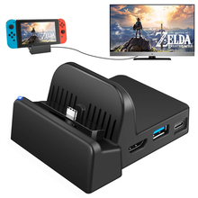 Get more info on the Portable Charging Stand Mini Switch Docking Station Charging Dock for Nintendo Switch