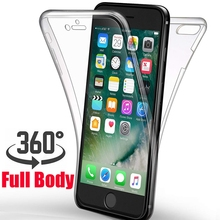 купить 360 Degree Shockproof Case for iPhone XR XS Max X 8 7 6 6S Plus 5 5S SE Full Body Protective Cover Soft TPU Front Hard PC Case по цене 115.28 рублей