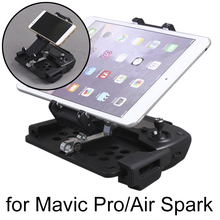 Phone Tablet Stand Holder Mount Clip Stretching Bracket for DJI Mavic Pro Drone Mavic Air Spark Remote Control for iPad iPhone