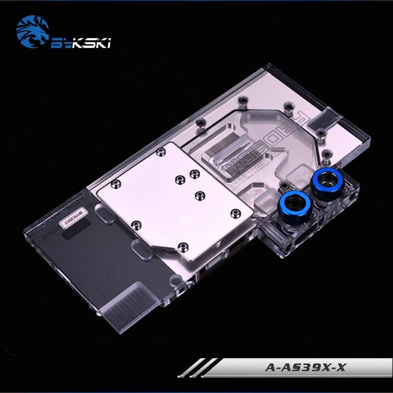 Bykski A-AS39XDC3-X, Full Cover Grafikkarte Wasserkühlblock RGB / - Computerkomponenten - Foto 3
