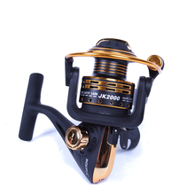 FISH KING Spinning Reel Fishing Reel 2000-7000 Series Boat Rock Carp Fishing Wheel Aluminum Spool