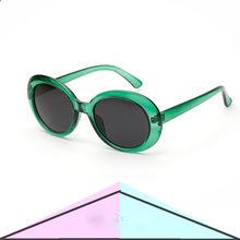 d5e6e5af44 Ruosyling Oval verde naranja para hombre gafas de mujer 2018 nueva marca  Italia diseño naranja marco rojo lentes verde espejo ga.