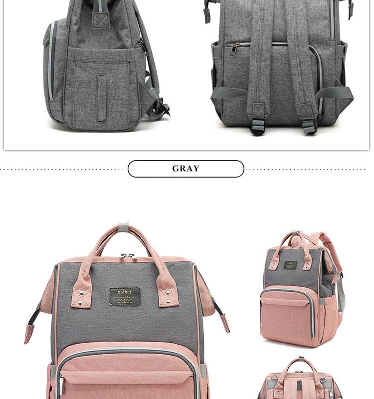 HTB1qWk3QYPpK1RjSZFFq6y5PpXaA Fashion Mummy Maternity Diaper Bag Large Nursing Bag Travel Backpack Designer Stroller Baby Bag Baby Care Nappy Backp