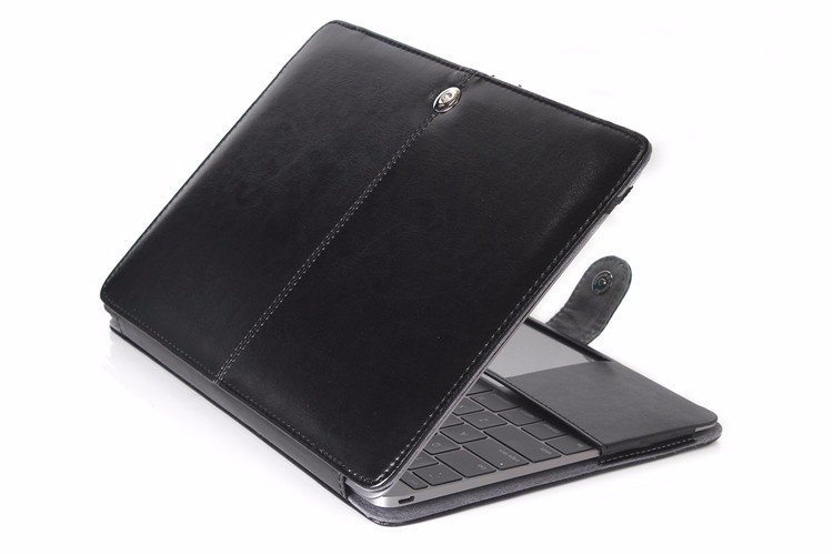 PU leather Notebook Case for MacBook 86