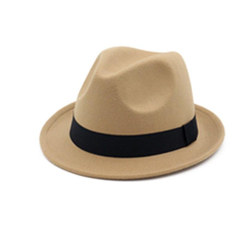 28cbce40ab83e Vintage black felt top hat fedora hats women for men mens hat wool felt  fedora hats chapeau homme feutre fascinator sombrero