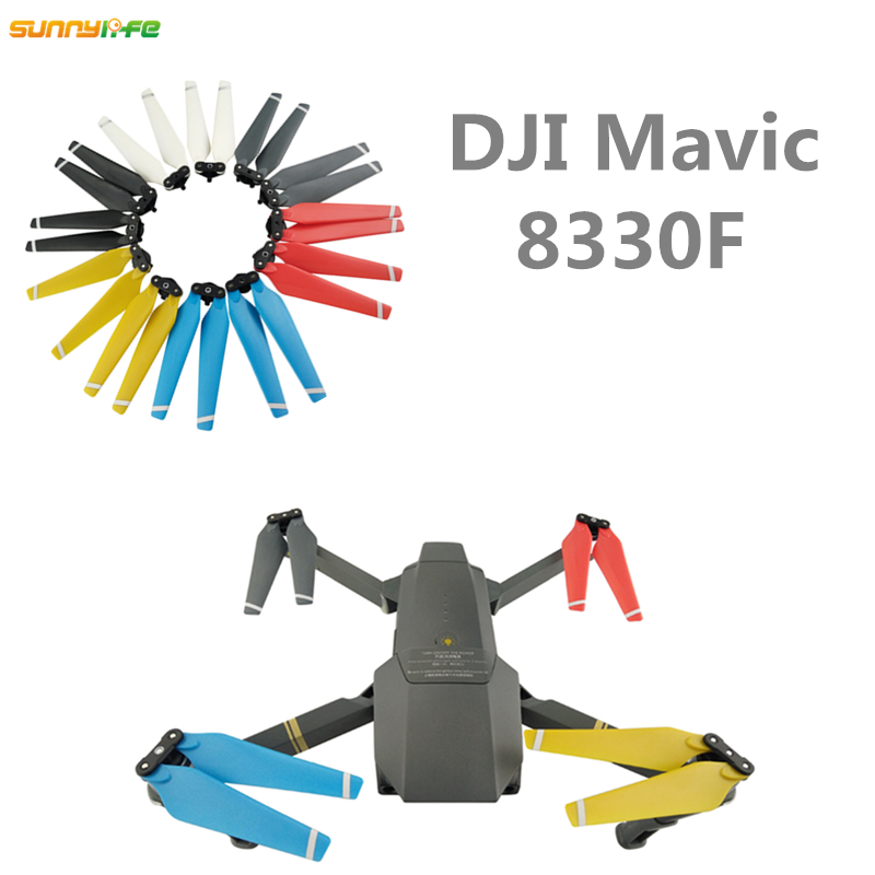 Sunnylife 1 pair 8 3inch DJI Quick Release Propellers 2 Blades 8330F 8 3 3 Plastic
