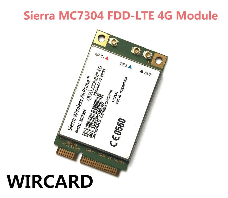 Sierra MC7304 Mini PCIE EVDO WCDMA AirPrime 4G FDD LTE GPRS GNSS 4G Module