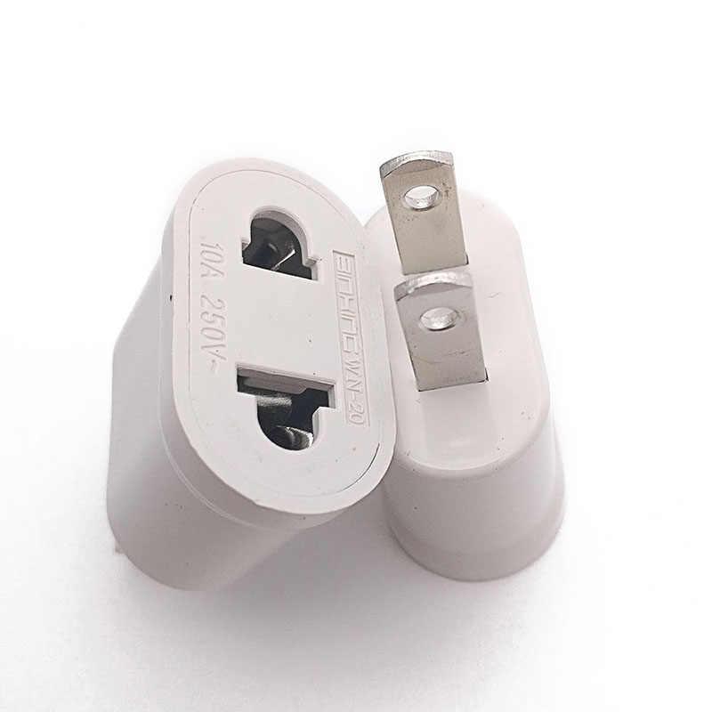 1 EU Cắm Điện ÂU MỸ AC/DC ADAPTER Điện Du Lịch Điện Sạc Adapter Chuyển Đổi Cao chất lượng 7
