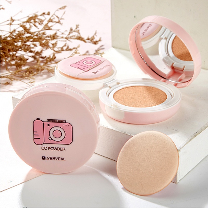 A'ERVEAL brand Makeup beauty air cushion CC cream isolation Concealer moisturizing oil control makeup makeup Foundation image
