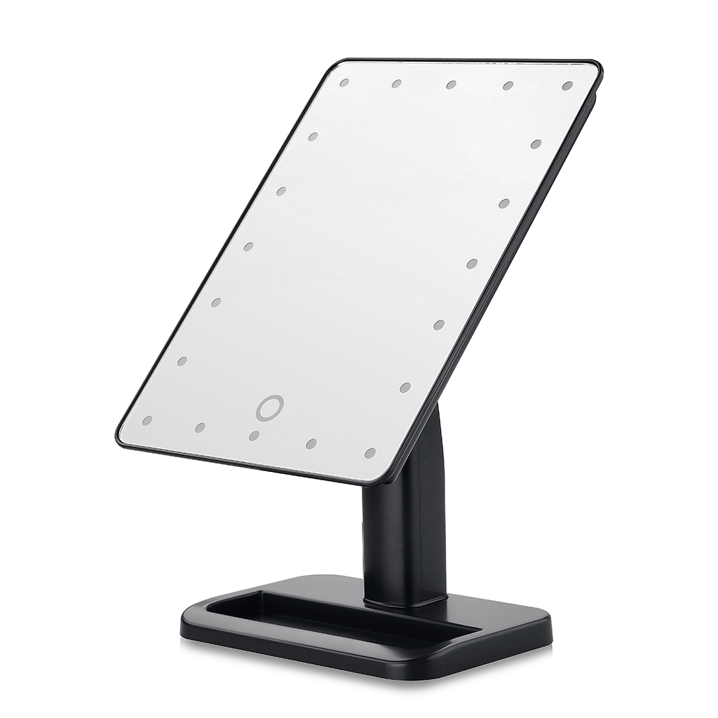 20LED Touch Screen Adjustable Tabletop LED Lighted Cosmetic Vanity Makeup  Mirror(China)