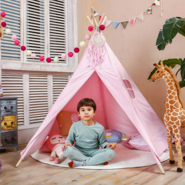 Love Tree Teepee Tent Classical Pink Five Poles One Window Kids Teepee Play Tent toy tent  sc 1 st  AliExpress.com & Love Tree Teepee Tent Classical Pink Five Poles One Window Kids ...