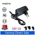18 V 1A 5.5*2.1mm Universal AC DC fuente de Alimentación Adaptador de Cargador de Pared