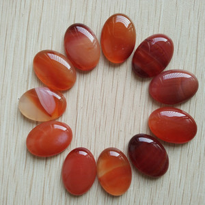 Image 5 - Free shipping 20pcs/lot Wholesale 18x25mm 2020 hot sell natural stone mixed Oval CAB CABOCHON teardrop beads for jewelry making