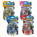 4pcs/set Superwings Super Wings deformation robot Building blocks collectors action figure toys Christmas gift doll