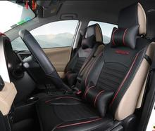 High Quality Black Car Seat Covers Set Interior Covers Car Styling Cushion Protector Car Accessories For TOYOTA RAV4