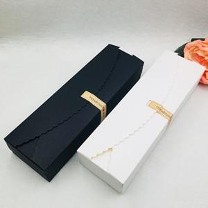 Image 2 - 20pcs/lot Natural Brown Kraft Paper Packaging Box handmade Soap Packaging Box Wedding Favors Candy Gift Long Paper Box