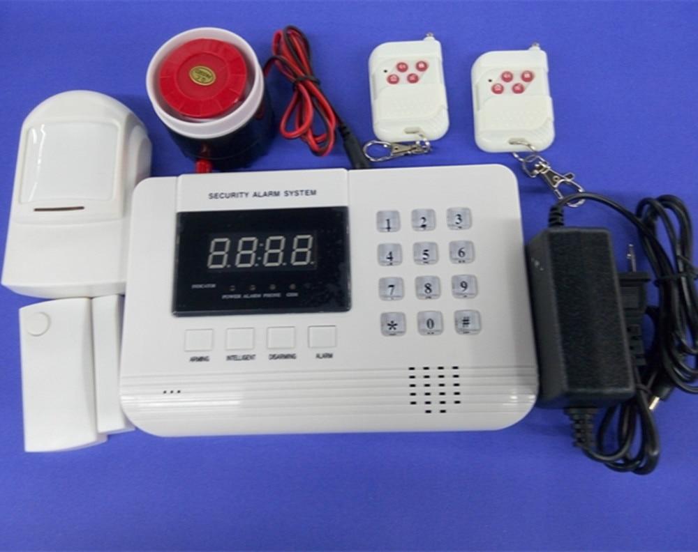Dual Band GSM + PSTN 433Mhz Wireless Alarm System