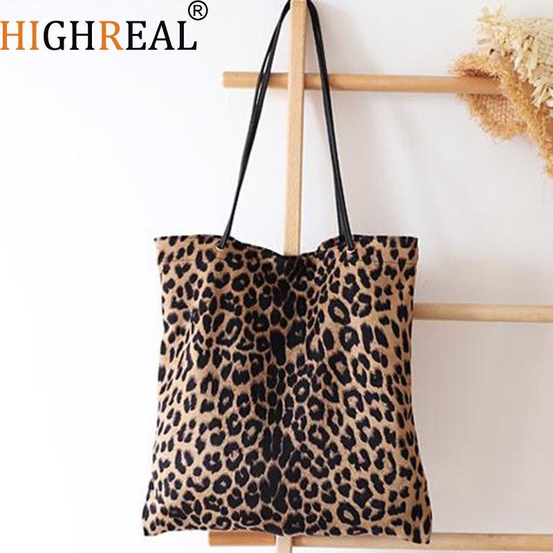 486b2fcb7c Detail Feedback Questions about New Women Bag Woman Handbags Leopard Casual  Tote Shopping Bag Vintage One Shoulder Bags Woman Handbags Fashion 2019  Casual ...