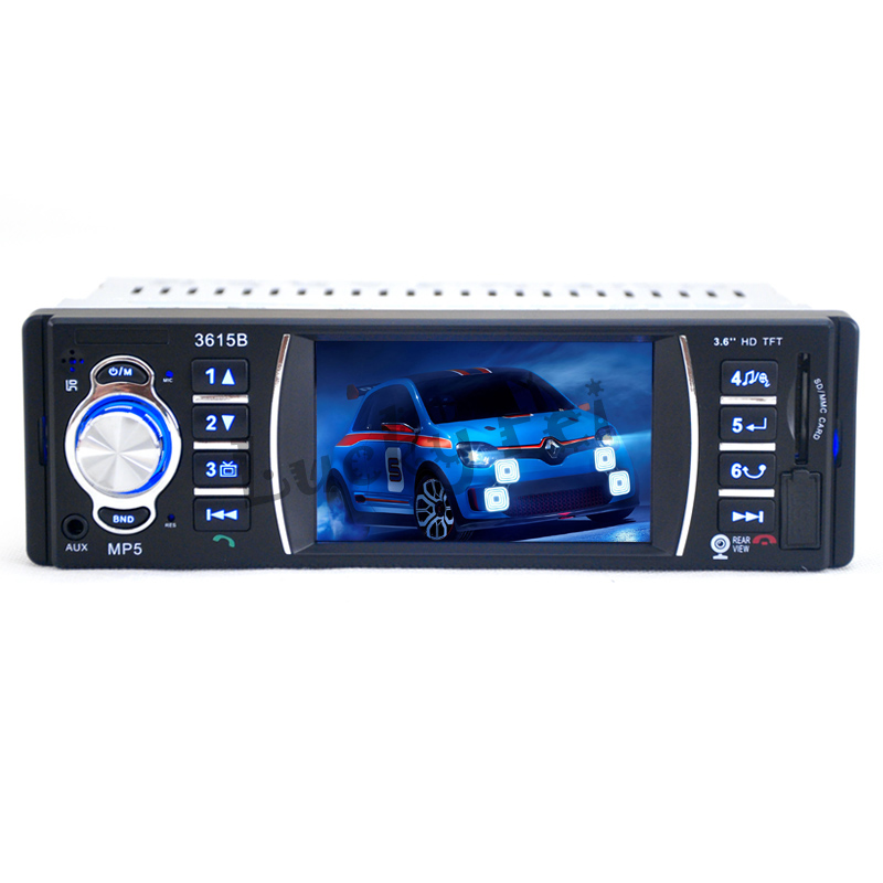 12V 3 6 TFT HD Car Video font b Audio b font MP5 Player Rear View