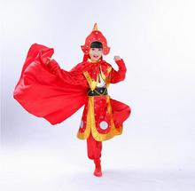Childrens clothing Mulan opera Costume Mu Guiying suit small artistes Zhaobing Tang