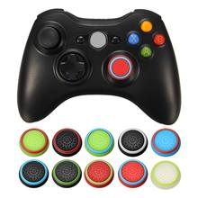 Rubber Silicone Thumbstick Joystick Cap Thumb Stick Cover Grips For PS4 For PS3 For XBOXONE For XBOX360 Wireless Controller(China)