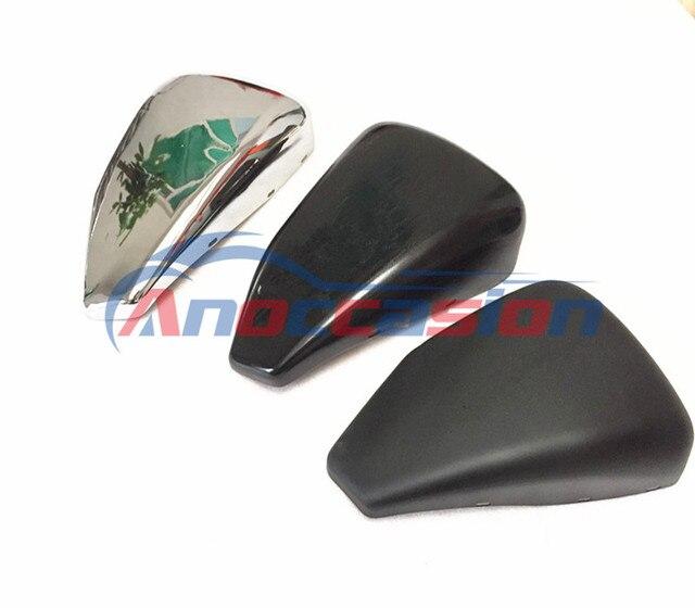 Para Harley para Sportster XL883 XL1200 48 72 2004-2013 mate/brillante lado izquierdo de la motocicleta cubierta de la batería de hierro ornamentales caso