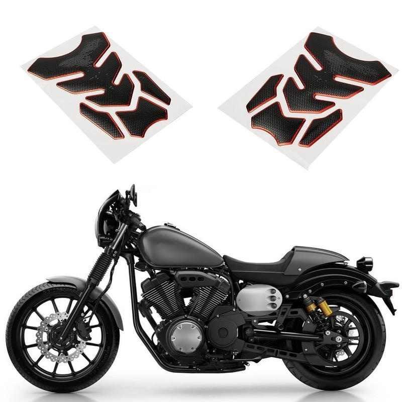 อะไหล่ Moto รถจักรยานยนต์ถังน้ำมันเชื้อเพลิงสติกเกอร์ Decal ถัง Pad Protector ปกคลุมรถ-จัดแต่งทรงผม Moto สติกเกอร์ตกแต่ง