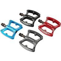 MEROCA MTB Mountain Bike Pedals Bicycle Pedal Aluminum 3 Sealed Bearings Fixie Bike Footrest Ultralight Cycling BMX
