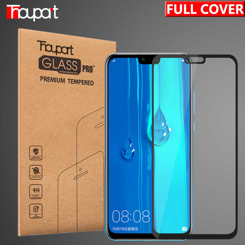 Thouport Glass For Huawei Y9 2019 Y9 2018 Tempered Glasses Full Cover Screen Protector Protective Film For Huawei Y9 Glass