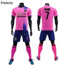 a57258383d6 College soccer jerseys men custom football jerseys soccer uniforms youth  adult football set suit maillot de