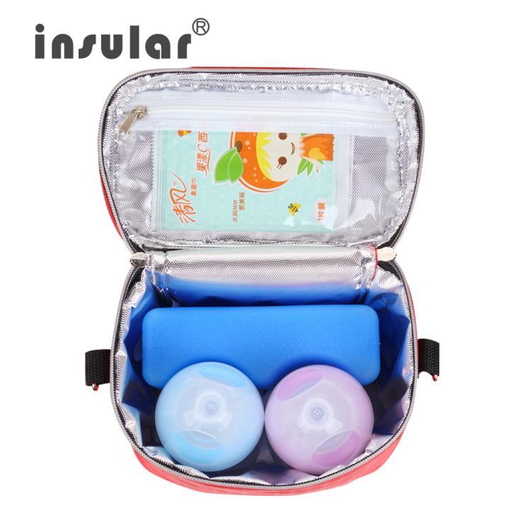 Brand Insular 420D Nylon Baby Foderflaska Isoleringsväskor Termiska - Äta och dricka - Foto 3