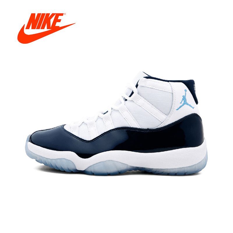 Original New Arrival Authentic Nike Air Jordan11 Retro Win Like 96 Men s  Basketball Shoes Sport Outdoor bc31a6bf1