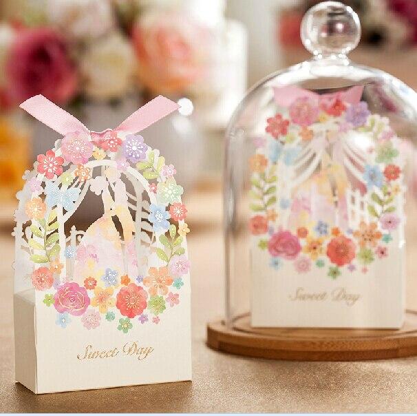 Aliexpress Buy 30pcs Romantic Wedding Gift Box Elegant White