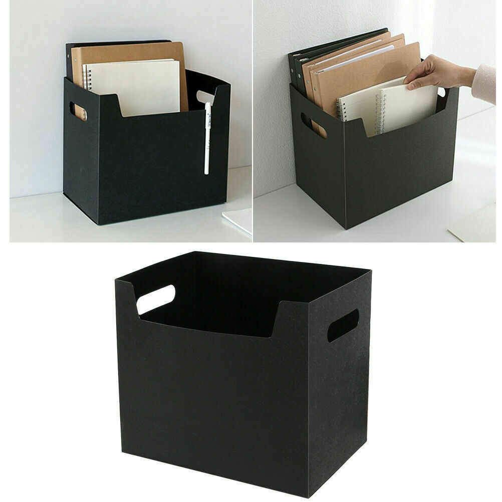 Multipurpose Portable PP Books File Box Paper Holders Office Documents Desktop Organizer Kit Big Storage Boxes