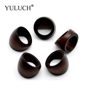 f4c5103844f5 YULUCH Simple Natural Wood Rings for Women Men Jewelry