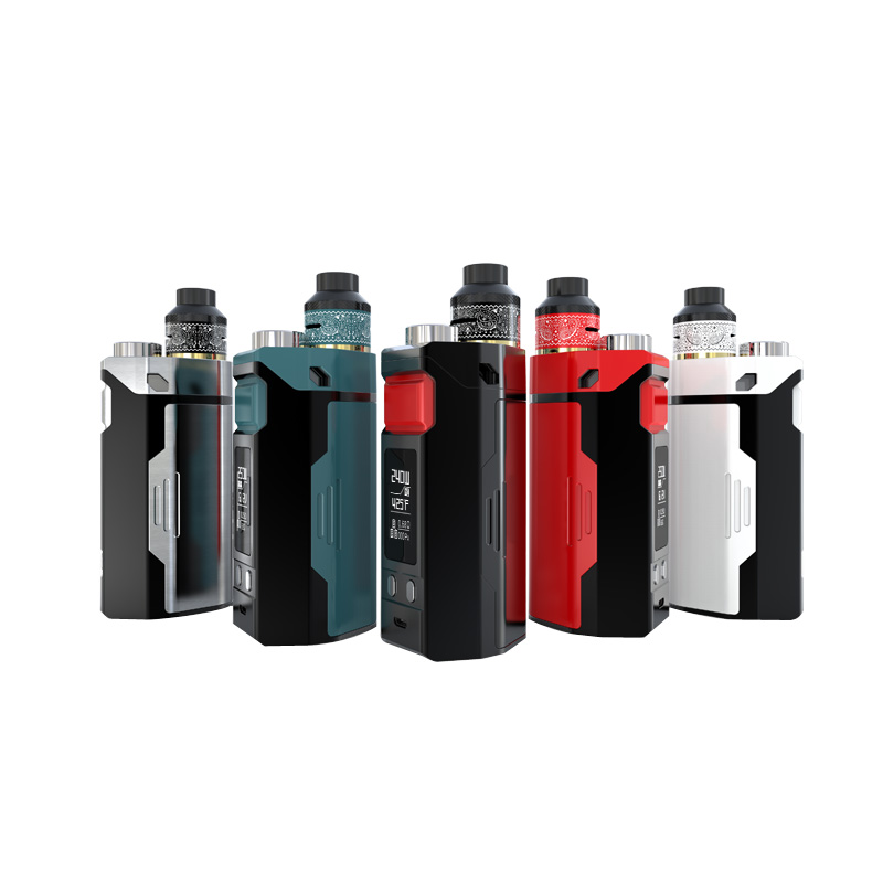 Original IJOY RDTA Box Triple Kit upgrade ijoy RDTA BOX mini kit fit IJOY COMBO RDTA and NEW IJOY Limitless RDTA e-cigarrat
