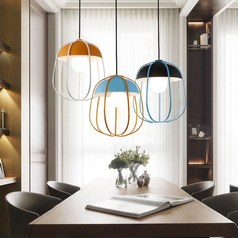 sencillo y moderno restaurante luces colgantes luces de la oficina nrdico de la moda creativa