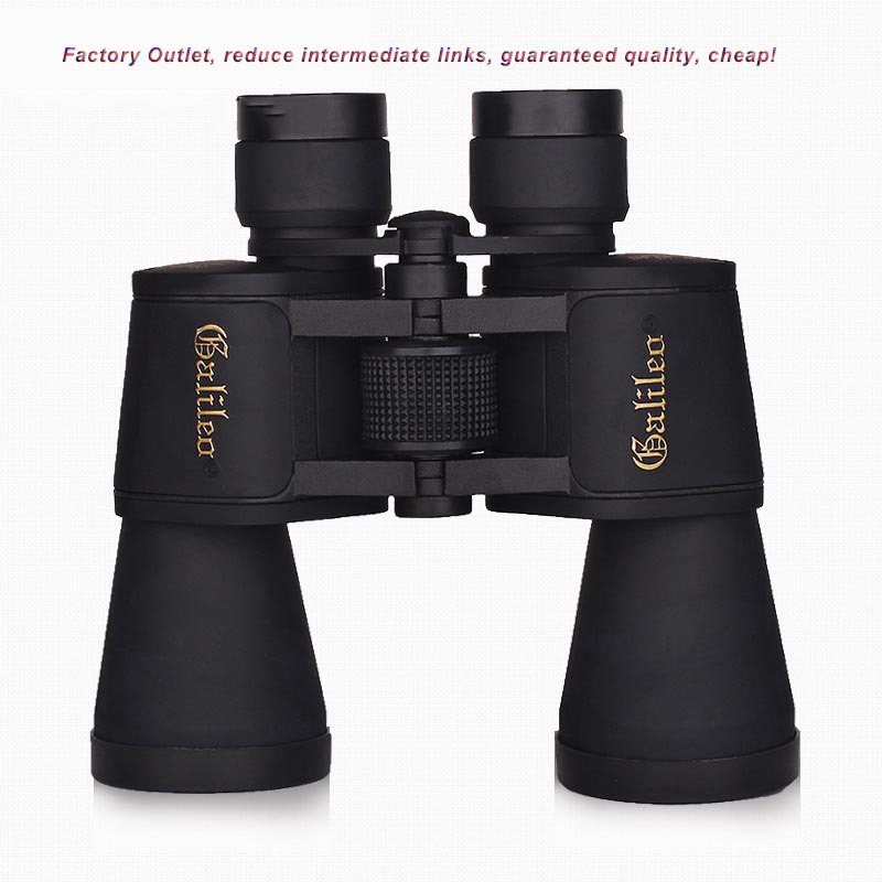 Hot Selling Galileo <font><b>20X50</b></font> Outdoor Low Light Level Night Vision Binoculars Hand-held Telescope High HD 2015 New image