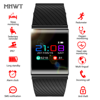 MNWT Smart Watches OLED Color Screen Digital Electronic Watch Women Blood Pressure Blood Oxygen Heart Rate Detection Fitness