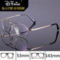 Armações de óculos de olho para homens moda marca dual-feixe de óculos de miopia 8229 negócios pure titanium armações frame ótico