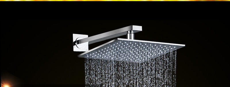 Thermostatic Bath Room Shower Faucets Shower Head 6 Massage Jets Spa Body Spray Shower Set (12)