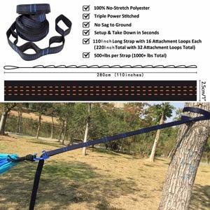 Image 5 - Dropshipping הזמנות מצנח ערסל עם ערסל רצועות אלומיניום carabiner קמפינג הישרדות חיצוני ריהוט