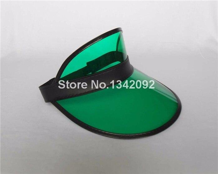 12 шт/партия белый/черный/прозрачный цвет солнцезащитный козырек фуражка шляпа рейверская Праздничная Fancey платье покер повязка на голову