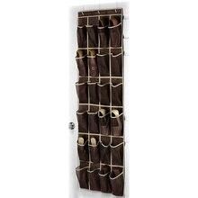 24 карманная вешалка для обуви дома над висячий Органайзер на дверь держатель для хранения шкаф для обуви хорошее качество